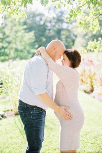 Maternity Photos shot on film