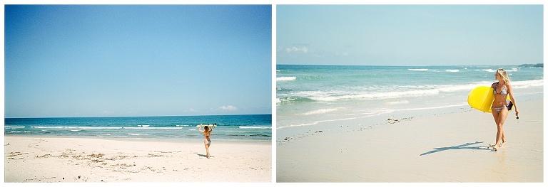 Portrait photos at the beach
